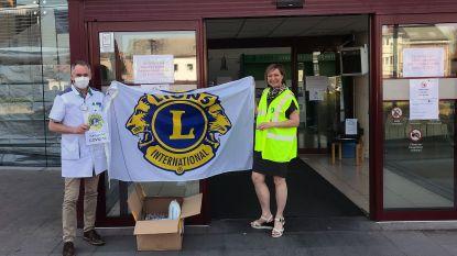 Kempense Lionsclubs schenken 1.300 mondmaskers aan ziekenhuizen van Mol en Turnhout