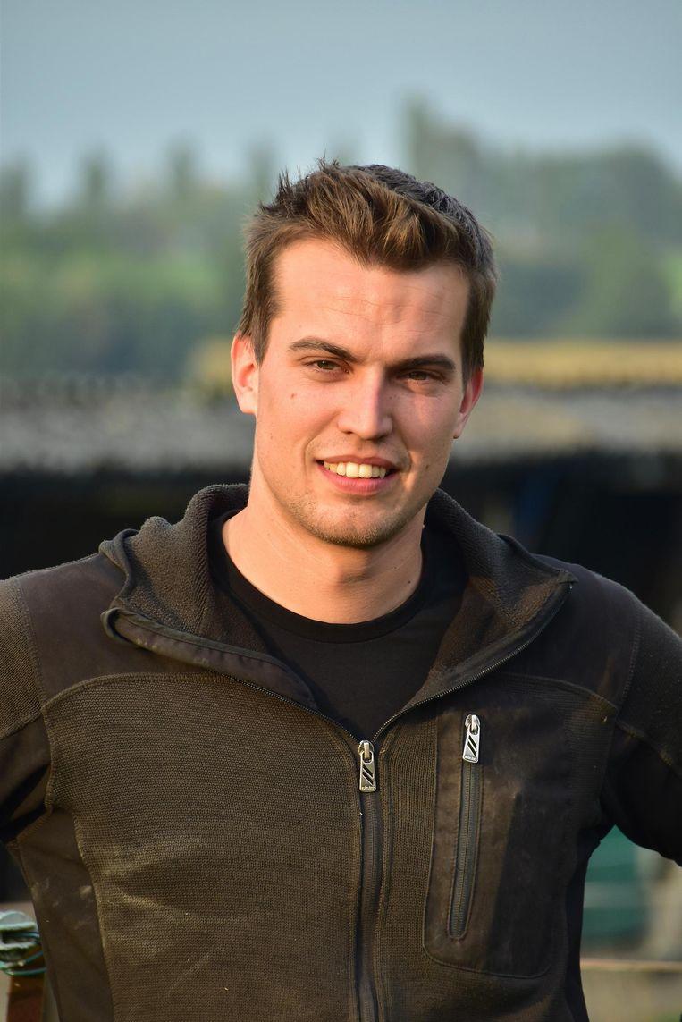 Motorrijder Giorgio Derycke (24) uit Aalbeke.