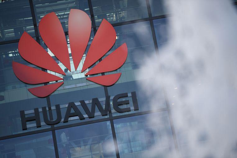 Het hoofdgebouw van Huawei in Londen.