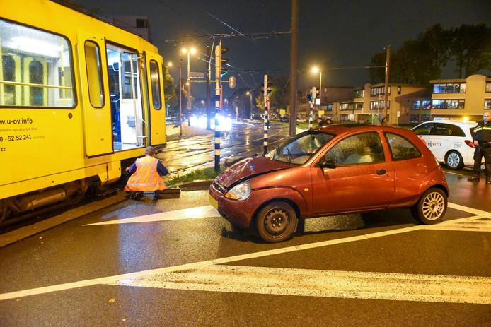 Ongeval nabij het Jaarbeursplein.