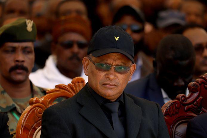 Debretsion Gebremichael, de regionale president van Tigray.