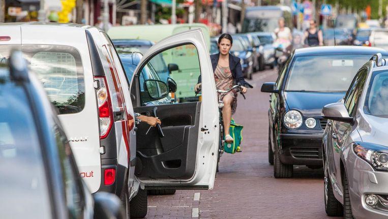 'De Koninginneweg en de Van Woustraat zijn gewoon gevaarlijk' Beeld Floris Lok