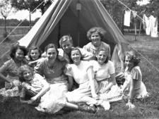 De verslaggever keek honderd jaar geleden zijn ogen uit op de camping: 'Geen stro meer, maar een grondzeil!'