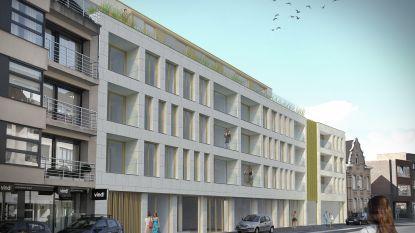 DieZie ruimt plaats voor 24 appartementen en 3 handelspanden