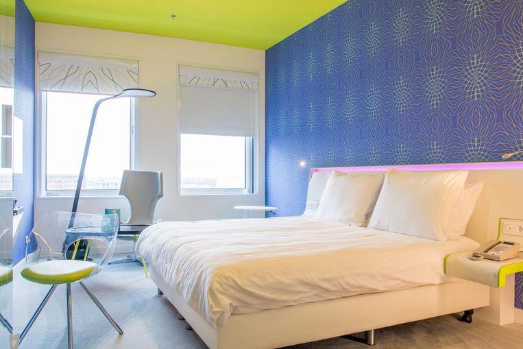 Een van de 478 hotelkamers Beeld Jesper Boot