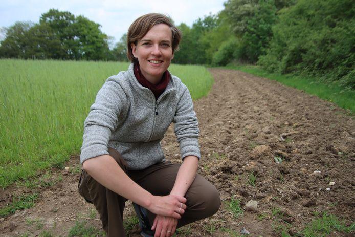 Evelien de Olde, onderzoeker van WUR en finalist van de Rockerfeller Food Prize.