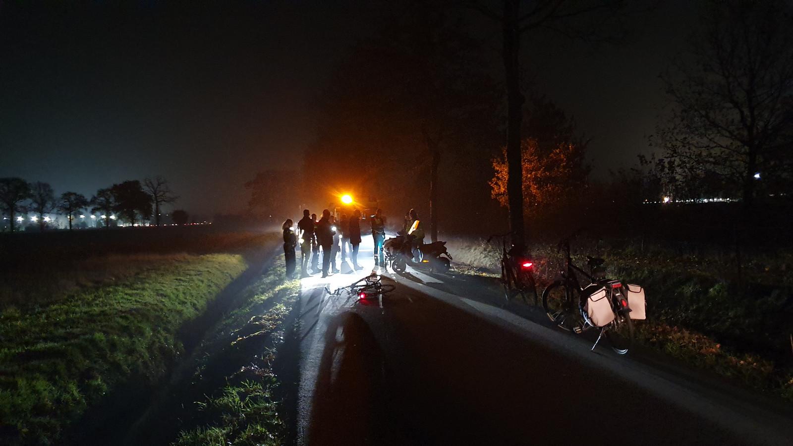 Ongeluk in Wageningen
