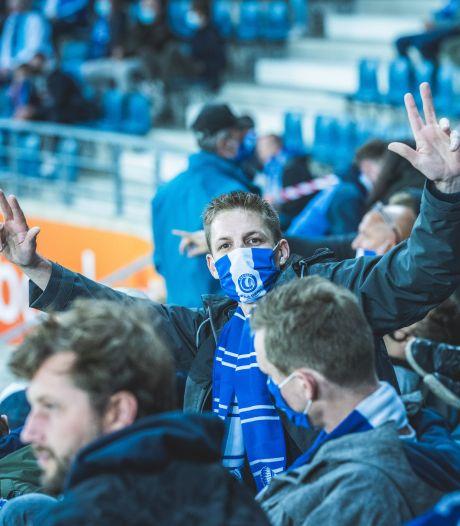 "Eerste wedstrijd KAA Gent met publiek: ""Geen toeters, geen trommels en minder ambiance dan anders"""