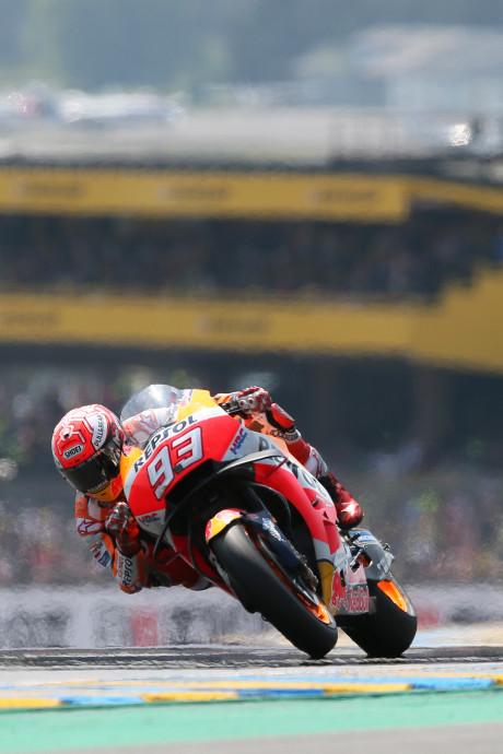 Márquez voor derde keer weer beste in Le Mans