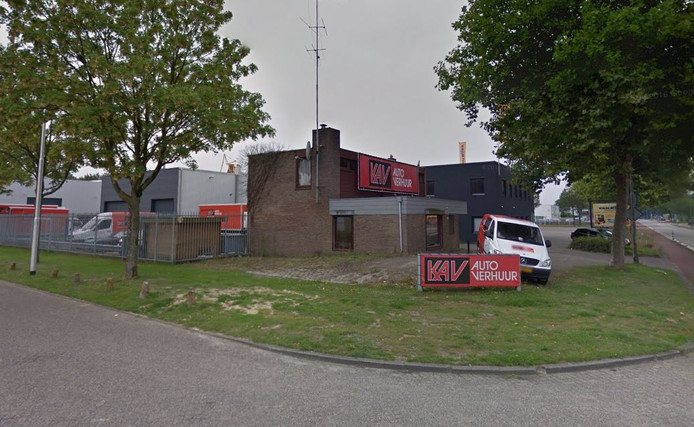 De vestiging van KAV aan de Zevenheuvelenweg op industrieterrein Kraaiven in Tilburg.