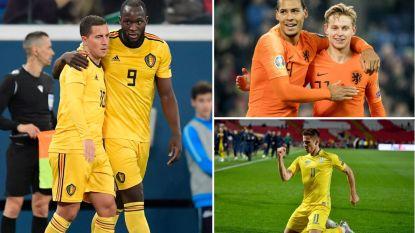 België - Nederland op het EK leek even reëel, maar goal van Oekraïne in 93ste minuut zet streep door droomduel