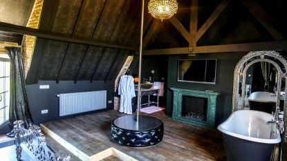€ 20.000 voor hotelletje met stripteasepaal en spiegels aan plafond