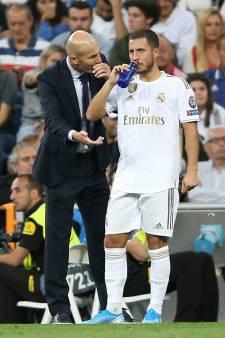 """Zidane """"très content"""" du retour d'Eden Hazard"""