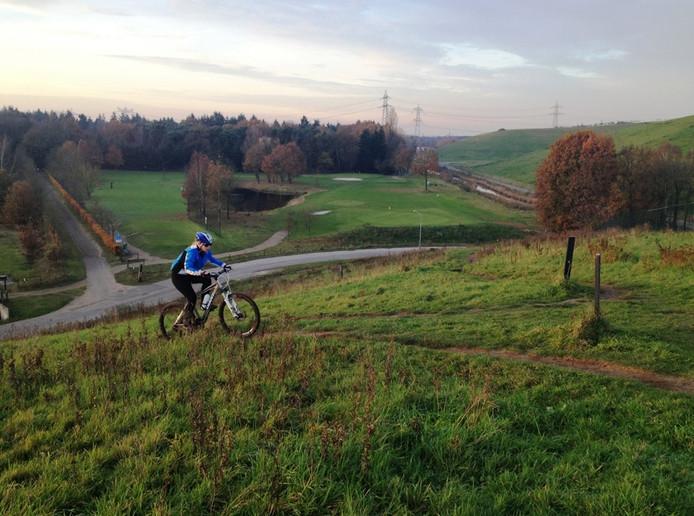 Nu is de 'Col du Gulbergen' alleen nog te bedwingen door mountainbikers.