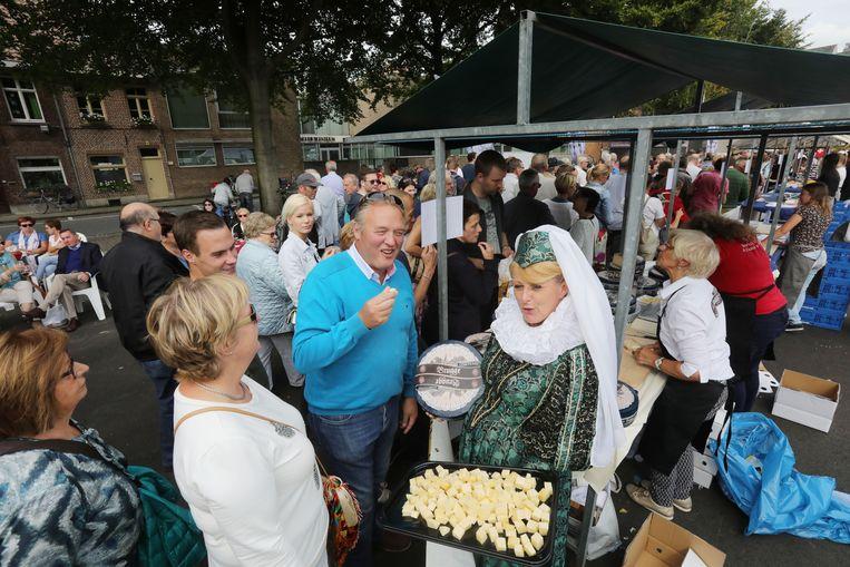 Een beeld van de Kaasmarkt
