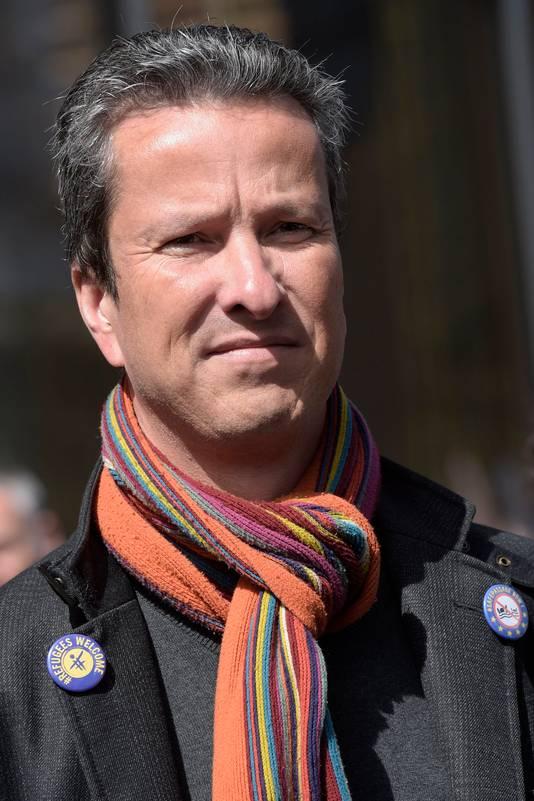 Alexis Deswaef, président de la Ligue des Droits de l'Homme.