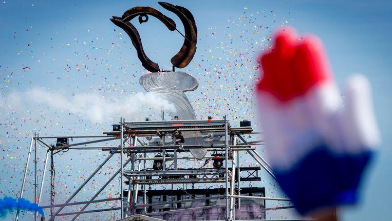 Bevrijdingsfestival in het Stadspark in Groningen, 2016. Beeld anp