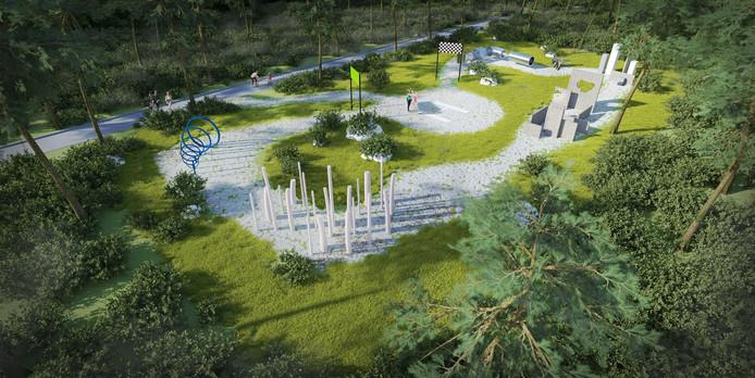 Het vakantiepark krijgt een bijzondere hindernisbaan: voor drones.