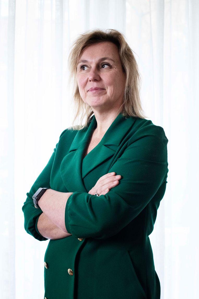 Ingrid de Swart (ASR). Beeld Kiki Groot
