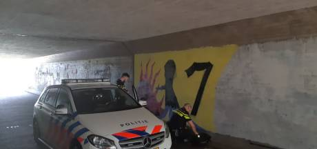 Agent springt bij voorbijganger op motor tijdens jacht op 'kunstenaar' in Nunspeet