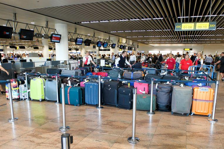 De dief bracht ook een bezoekje aan de luchthaven van Zaventem.
