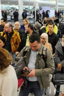 De longues files à Zaventem: les actions vont se poursuivre pendant les vacances de carnaval