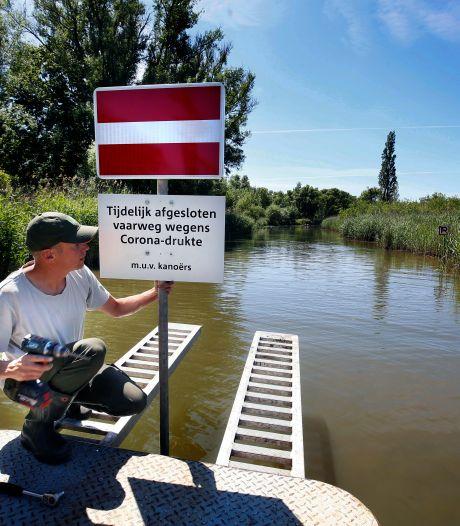 Pinksteren in de Biesbosch: kreken dicht en afstand houden voor 'ronkende motoren en diesellucht'