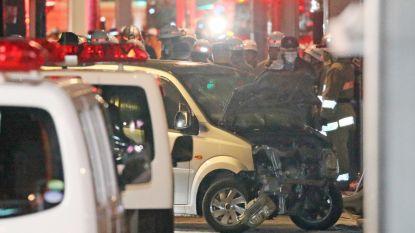 Negen gewonden nadat man (21) met auto inrijdt op feestvierders in Tokio