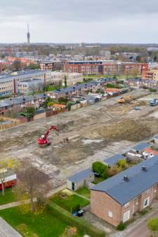Slopers slaan een gat in Goes-Oost, maar nieuwe huizen komen snel