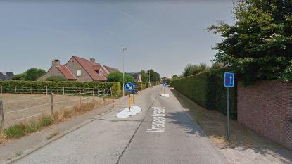 Aanleg verkeersplateaus in Vredestraat start