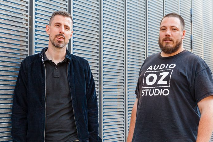 Marco Martens (links) en Tim van Noort.