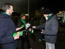 Supporters collecteren voor FC Dordrecht