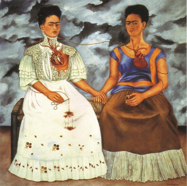 'Bij elke keuze die ik maakte dacht ik: wat zou Frida doen?' Frida Kahlo: Las dos Fridas (1939). Beeld