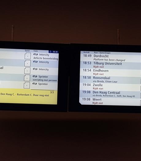 Geen treinen tussen Tilburg en Boxtel en Tilburg en Den Bosch