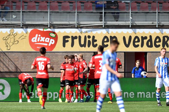 Helmond Sport won vaker van FC Eindhoven dan andersom.