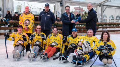 Hele winter schaatsen aan Sint-Annastrand
