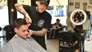 Kapper zonder diploma als enige Belg naar Barber Awards