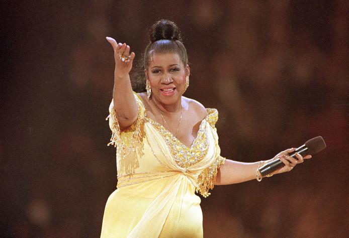 Aretha Franklin in 1993.