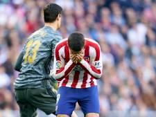 Nog meer zorgen voor Atlético: ook Morata geblesseerd