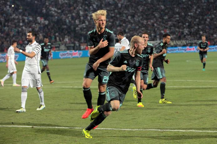 Drie jaar geleden maakte Davy Klaassen met twee doelpunten het verschil voor Ajax tegen PAOK.