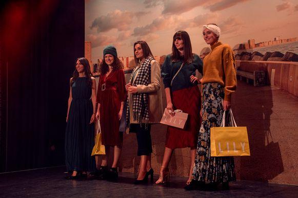 Modeshow voor #modeinoostende.