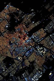 Kaart toont in welk jaar elk gebouw in Den Haag werd gebouwd