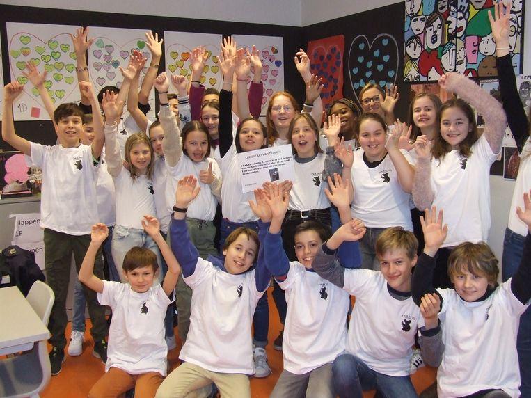 De leerlingen van Campus Zomergem Middenschool SV springen in de bres voor verbrande koala's.