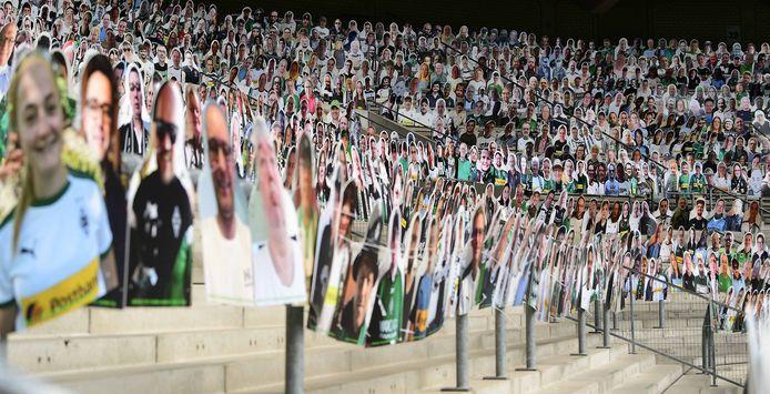 De actie bij Borussia Mönchengladbach.