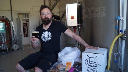 """Altijd al je eigen bier willen brouwen? Dankzij Tieltse brouwerij De Poes kan het nu: """"Ik wil zoveel mogelijk mensen appreciatie voor het vak bijbrengen"""""""