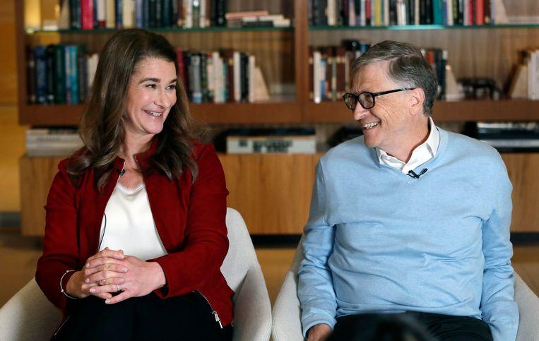 Melinda en Bill Gates