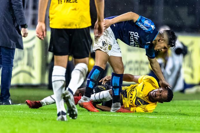 Fabian Sporkslede viel zondag met achillespeesblessure uit.