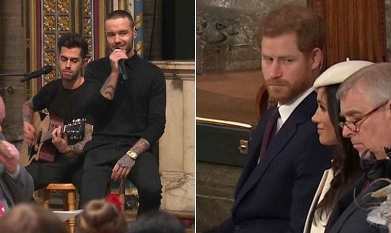 Prins Harry fronst de wenkbrauwen na optreden Liam Payne