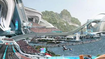 Ziet de F1 er in 2050 zo uit? Met 500 km/u door grote bochten in kom, E-pitlanes en co-piloot op artificiële intelligentie