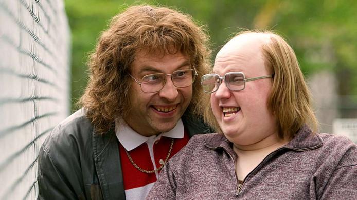 Lou en Andy (links) uit Little Britain.